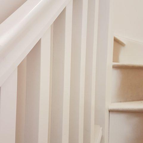 Handrail & Spindles Sprayed