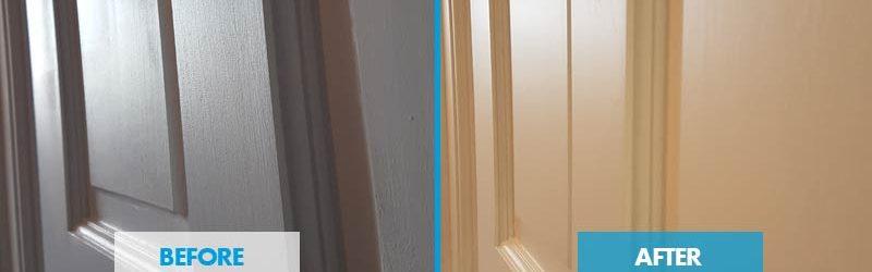 airless spraying doors