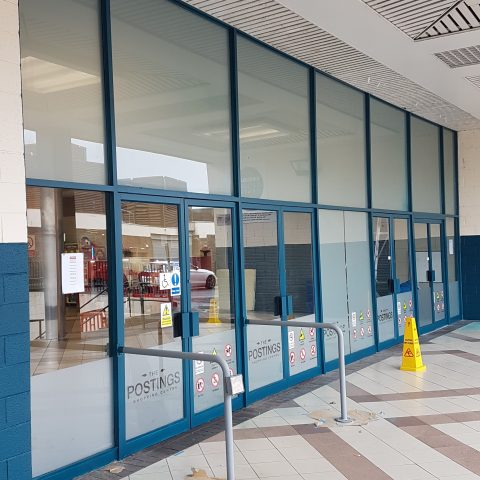Commercial Window Spraying After