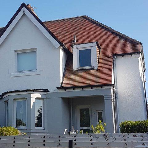 Dunfermline Exterior House After