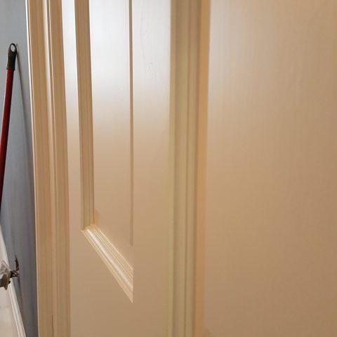 Doors Airless Spray Painted